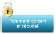 Paiement garanti et sécurisé