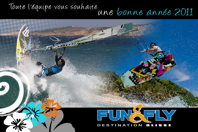 Cartes de voeux Fun & Fly Glisse