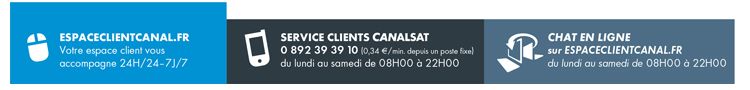 Service Clients CANAL+ CANALSAT