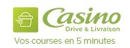 Vos courses en 5 minutes avec Casino Drive et Livraison