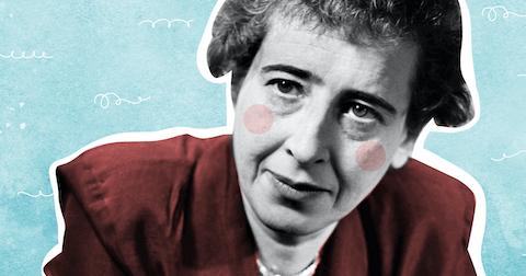 Sciences Humaines été 2020 : les lois de la réputation  / Hannah Arendt  / La bienveillance  15954991230_arendt