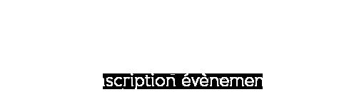 Inscription Evenement