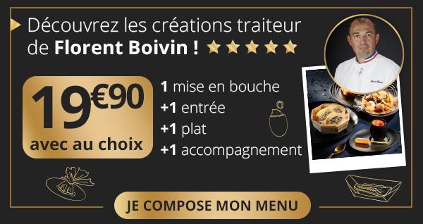 Découvrez les créations traiteur de Florent Boivin