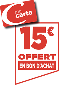 15€ EN BON D'ACHAT